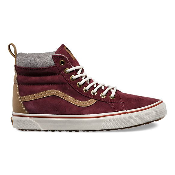 New colorways for the SK8-Hi MTE are up on Vans.com. /