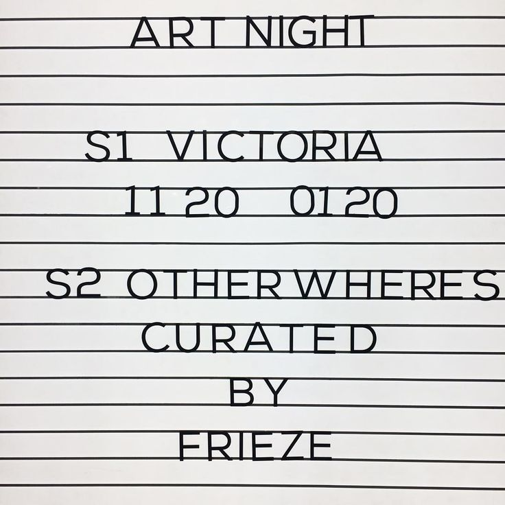 As part of the Art Night Associate Programme @artnightlnd and @frieze_magazine Deputy Editor @amy_sherlock have curated 'Otherwheres' a series of artist projects and @frieze_magazine film essays and short documentaries, which are being shown on a loop tonight until 4am.  In parallel, @curzoncinemas Aldgate are also screening Victoria (2015) a feature film shot in a single take that follows a group of young people on a wild night in Berlin. #artnight #friezevideo