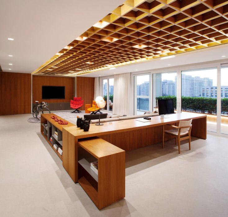 Perkins Will Design a Unique Contemporary Apartment in São Paulo, Brazil