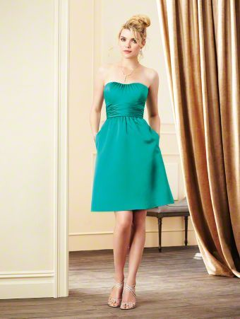 Alfred Angelo Bridal Style 7267S from Alfred Angelo Bridesmaid Emerald sz 12