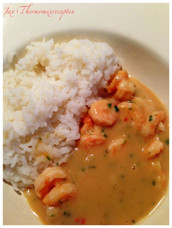 Thai lemon shrimp | Thermomixrecepten blog Jacq | Pinterest