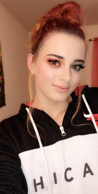 Cool & warm makeup look Warm makeup, Makeup looks, Warm