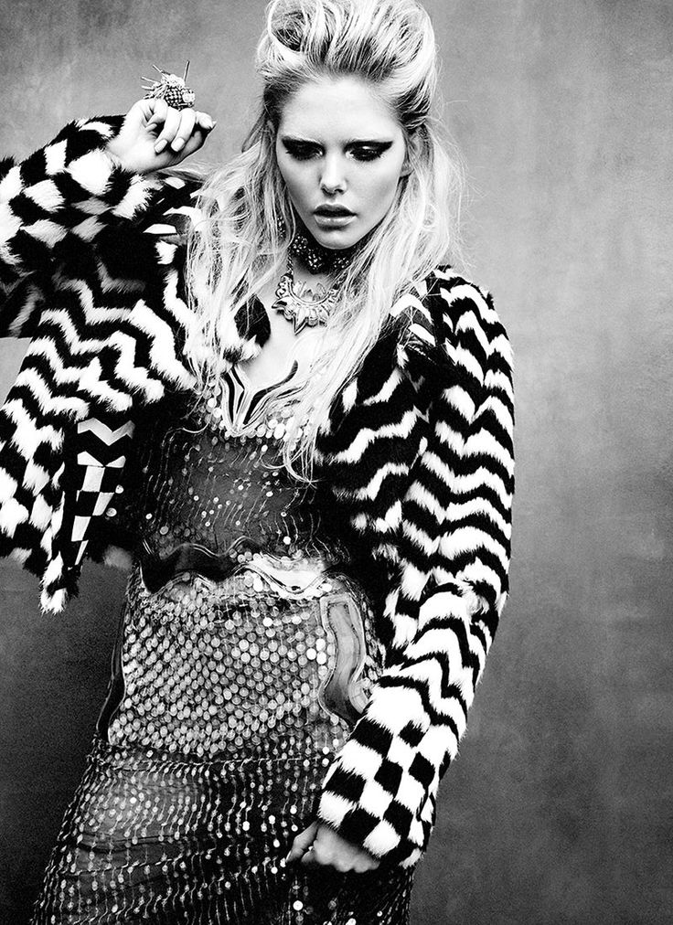 Letting your style explain how fierce you are. Dani Sutherland by Chris Nicholls for Flare January 2012