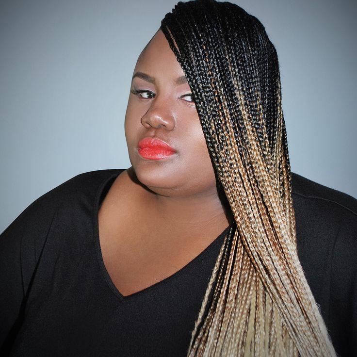 #Ombre braids by Josephine #naturalhair #braids | Natural ...