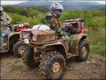 OHV at Ride Royal Blue ATV Resort and Campground Trail
