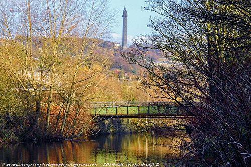 Colin Green Photography: Gas Works Bridge, Sowerby Bridge