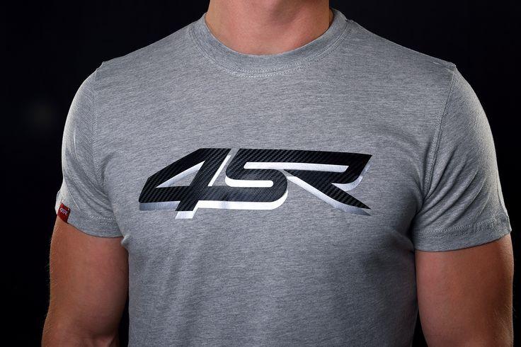 4SR T-Shirt Silver Carbon
