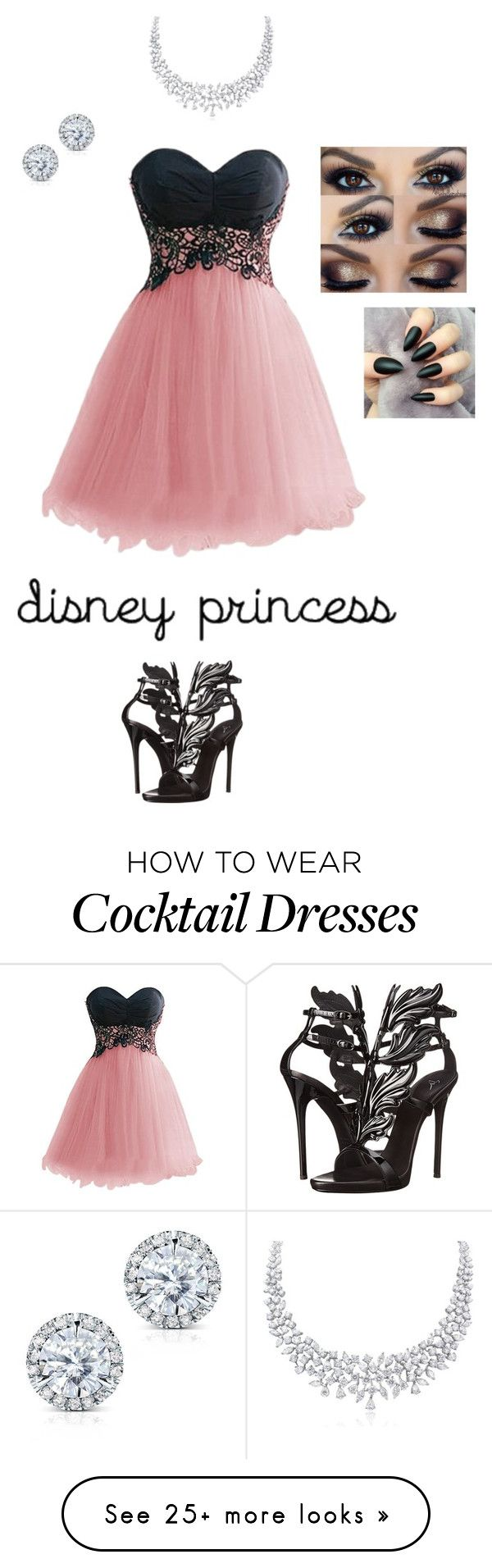 """Disney"" by cassiethompson20 on Polyvore featuring Giuseppe Zanotti, Kobelli and Disney"