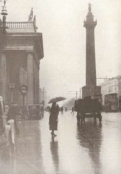 Nelson's column at O'Connell Stree, Dublin