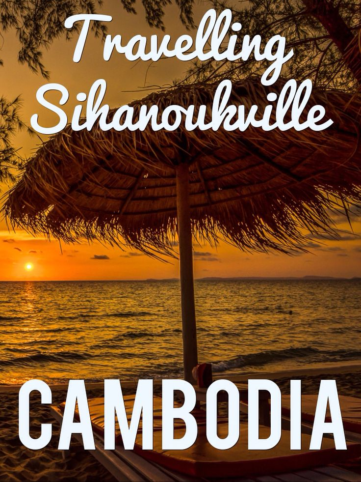 Considered Cambodia's top beach and resort area, Sihanoukville has earned a name for itself and is now frequented by thousands of travellers (of all sorts) every year. A warm ocean breeze blows through the sandy beachfront of Sihanoukville, perfect for holiday-makers. Check out the blog for more.