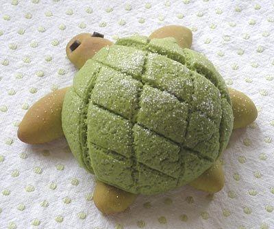 Turtle Bun (Japanese Recipe)