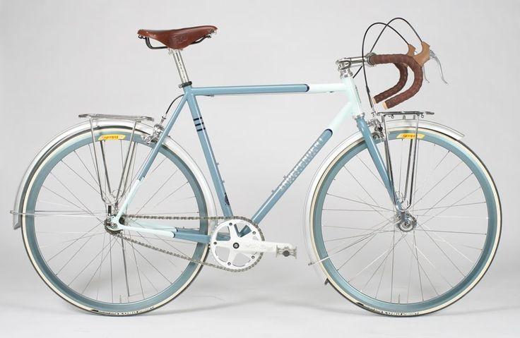 #beautiful #blue #bike