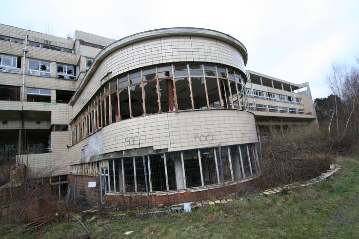 An abandoned TB hospital in Wallonia, Belgium