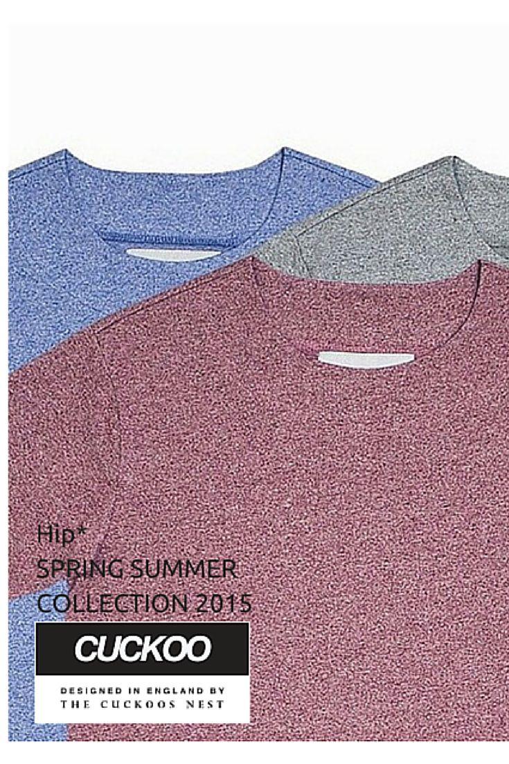Men's T-Shirts - Marl Tee #Hip #Hipyourtshirts #Hipyourstyle #Tshirts #Sweatshirts #Thecuckoosnest #Cuckoo #Cuckoos #SS_15 #New #Collection #Spring #Summer #Mens #Fashion #Style #Art