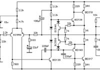 TDA2050 Power Amplifier Circuit schematic . High output power, low distortion, power amp for HiFi Power Amplfier