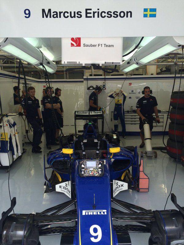 Marcus Ericsson Sauber F1 Team