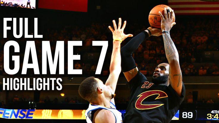 #NBA #NBAfinals Warriors vs Cavaliers: Game 7 NBA Finals - 06.19.16 Full Highlights