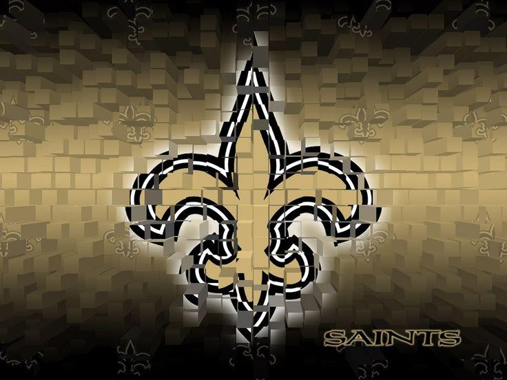 NFL Saints 3D Wallpaper