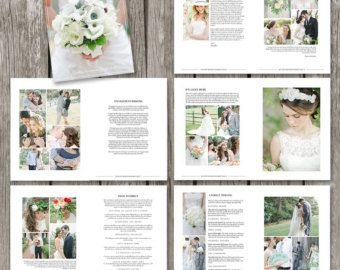 wedding photography magazine template 22 page digital magazine studio welcome guide wedding brochure for photographers