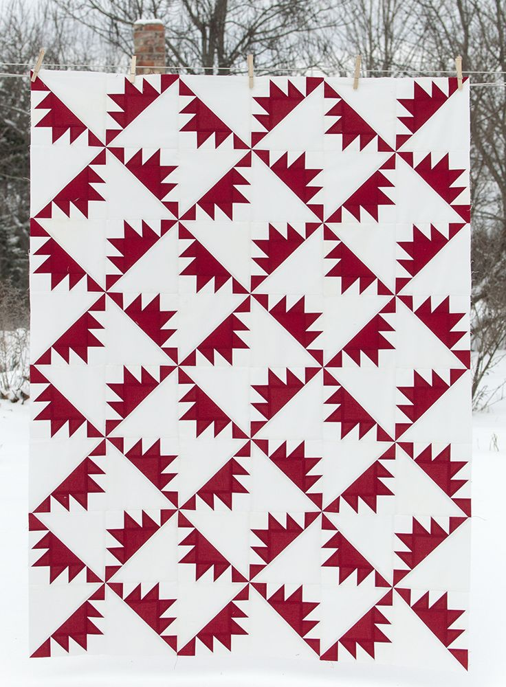 361 best Red and White Quilts images on Pinterest | Jellyroll ... : red and white quilt patterns - Adamdwight.com