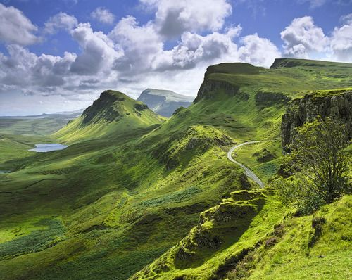 Quiraing Isle Of Skye Scotland Uk Trip Pinterest