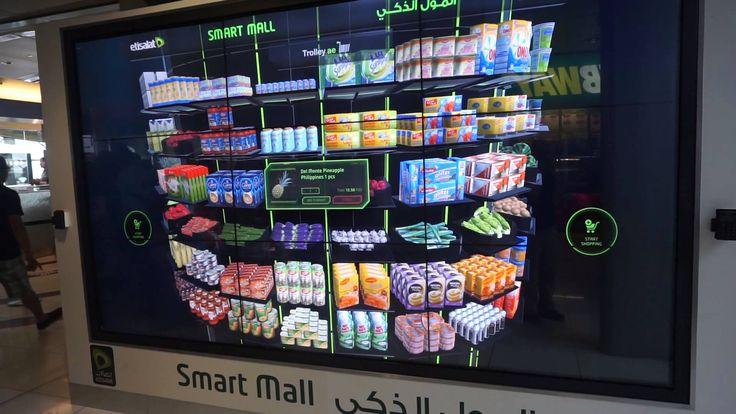 Virtual Shopping Cart in Dubai Metro