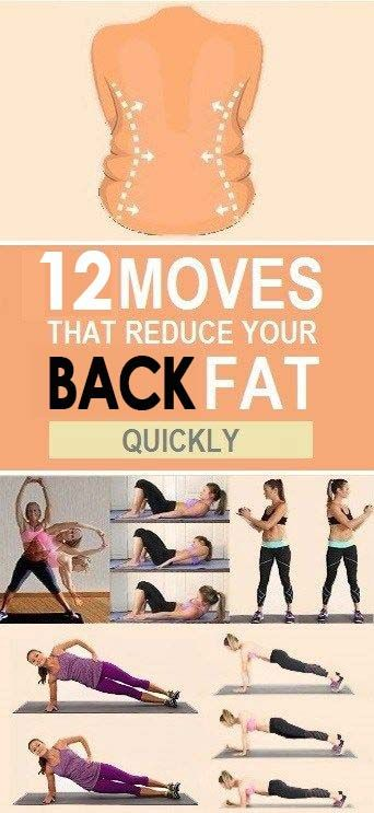 how to lose back fat fast without exercise