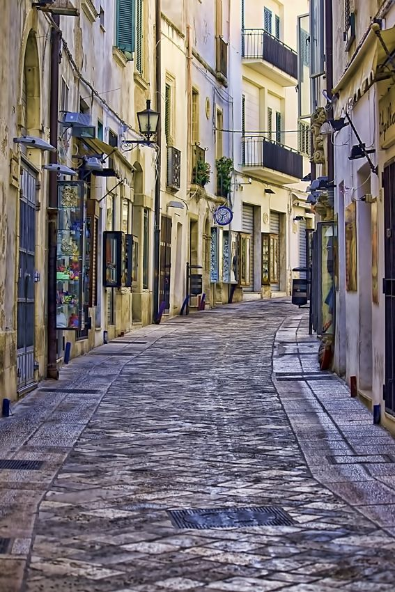The town of Otranto in the south of Italy - one day I will visit a beautiful place like this!!!