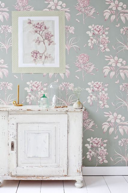 romantic floral wallpaper love - Floral Wallpaper Bedroom Ideas