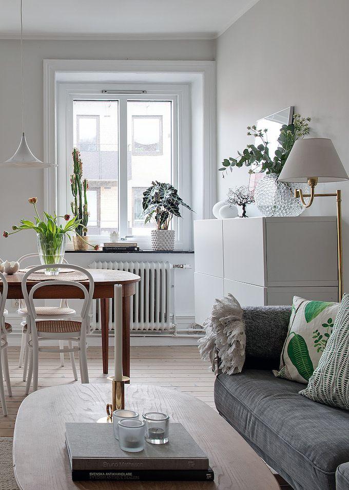 Appartement Suedois Visite Deco Blog Salon Rustique Deco