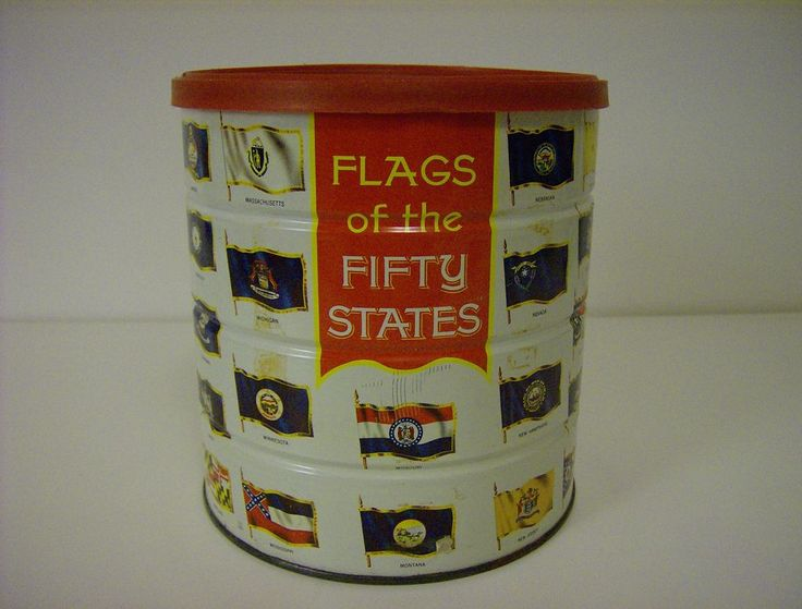 Collectible Tin ~ Hills Brothers Coffee ~ 1970 found on Ruby Lane