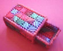 Plastic Canvas Box Pattern stuff for kids to make