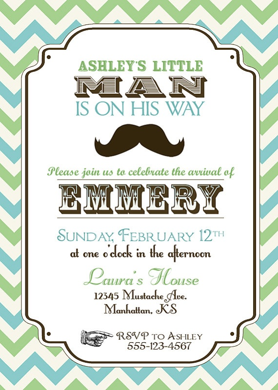 32 best Birthday Party images – Little Man Mustache Party Invitations