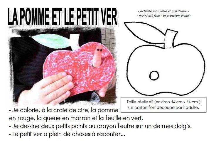 un ver dans la pomme