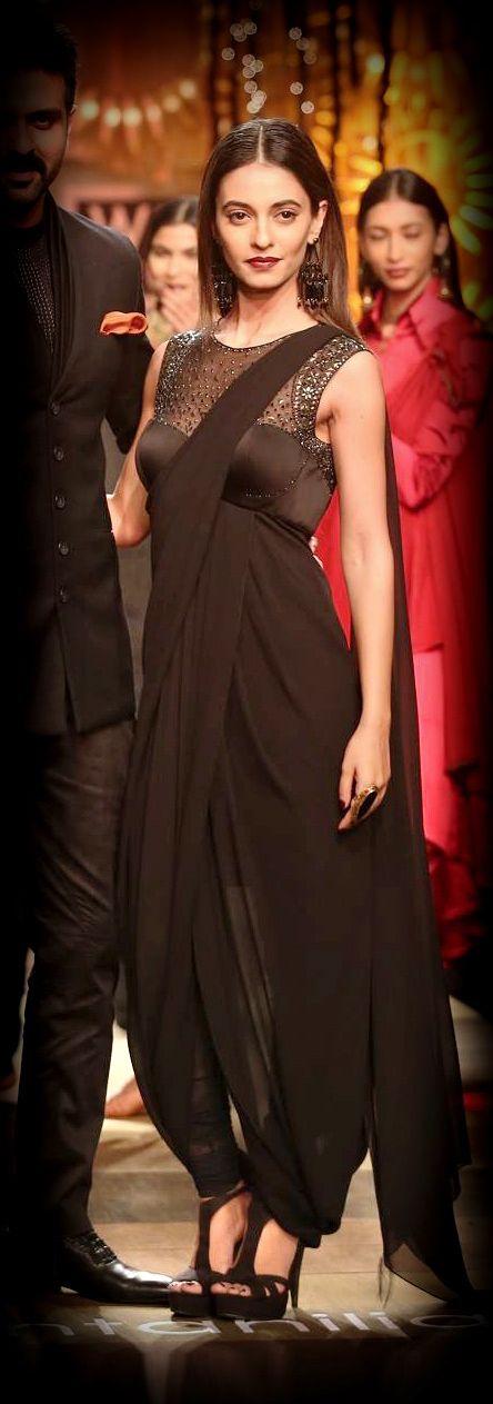 Tarun Tahiliani Autumn Winter 2014 India fashion week