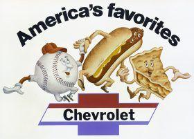 Baseball, hot dogs, apple pie & Chevrolet