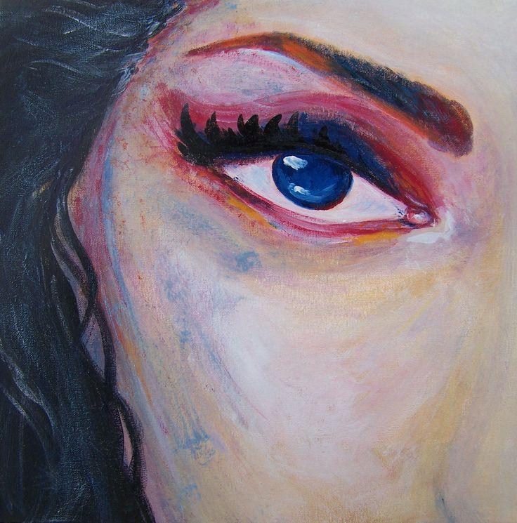 Vědma (2017)  #painting #power #magic #woman #malba #ladylu #ladyluart #ladyluartist #vedma