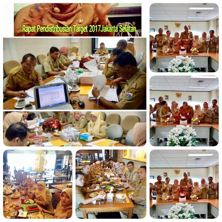 Rapat Pendistribusian Target 2017 Jakarta Selatan