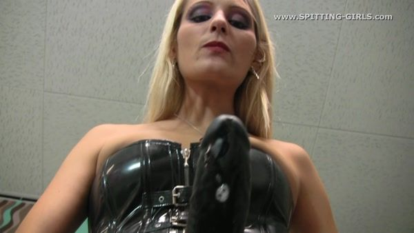Spitting in your mouth femdom