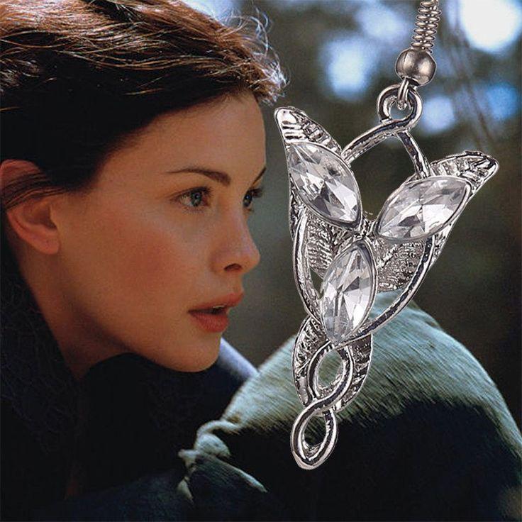 The Lord of the Rings Arwen Evenstar Earrings  //Price: $10.00 & FREE Shipping //     #BilboBaggins #lordoftherings #LOTR #thehobbit #hobbit #ExtendedEdition #Tolkien #Sauron #Smeagle #Frodo #myprecious #erebor # gandalfthegrey #filixkili #thehobbitanunexpectedjourney #radagastthebrown #theonering