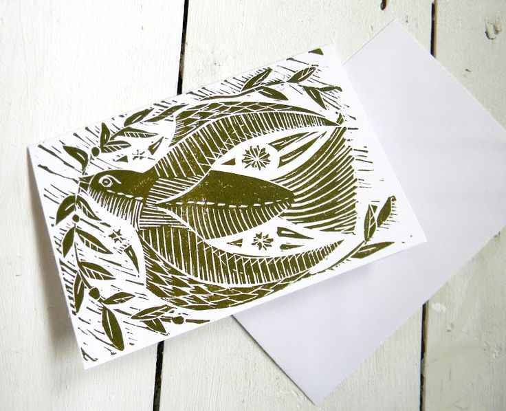 Christmas cards by Mangle Prints