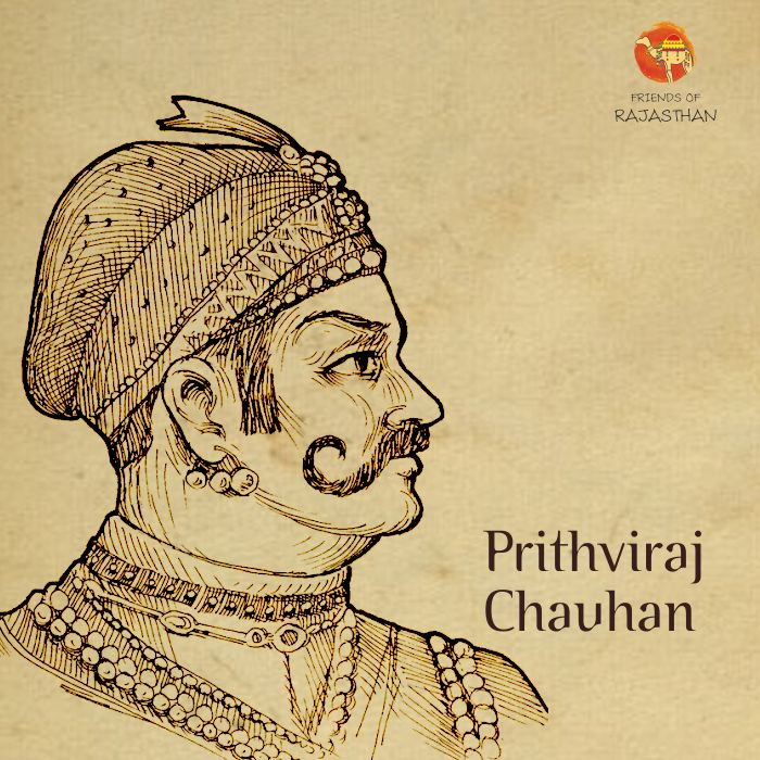 The warrior king of #Rajasthan, Raj Pithora or #PrithvirajChauhan was a #Rajput king of the #Chauhan dynasty. His whole life is a fine example of bravery, courage, chivalrous deeds and glorious exploits.   A romantic tale associated with him is of his elopement with #Samyukta (#Sanyogita), the daughter of #Jaichand, the king of #Kannauj.