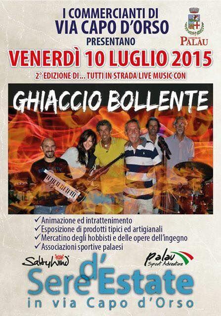 Tutti in strada - Live Music con  Ghiaccio Bollente  10 luglio
