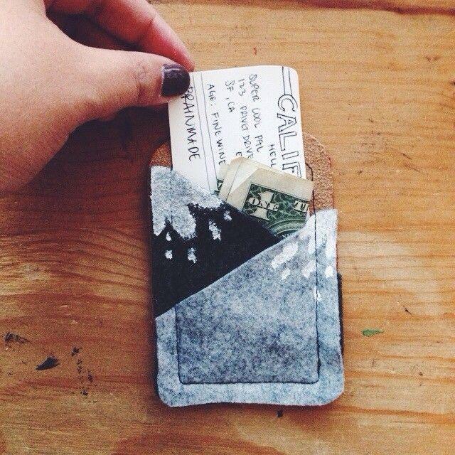 DIY Adventurous Card Holder