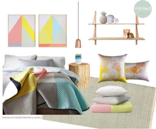 #mintedinteriors #interior #design #bedroom #pastel #soft #beautiful #masterbedroom #design #concept