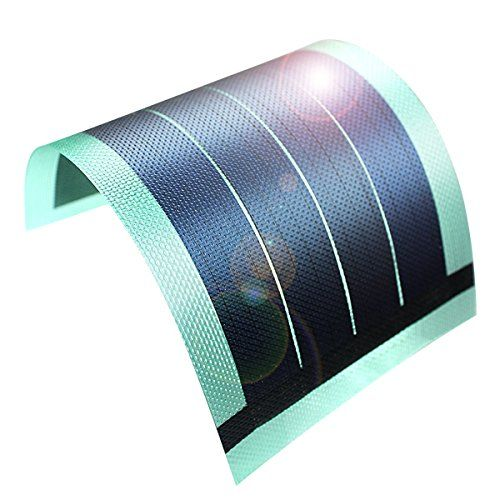 Flexible Thin Film Solar Panel Module DIY 1W 6V Panel Rechargeable Battery (green)  https://topcellulardeals.com/product/flexible-thin-film-solar-panel-module-diy-1w-6v-panel-rechargeable-battery-green/  Ultra-thin:only 20cmx10cm thick 0.1cm highly portable Waterproof:high quality material,sturdy and durable ,Sealed high and long service life ,will not fall off,applies to any occasion that can be exposed to direct sunlight Sufficient Energy:High Efficiency Shadow Tolerance Lo