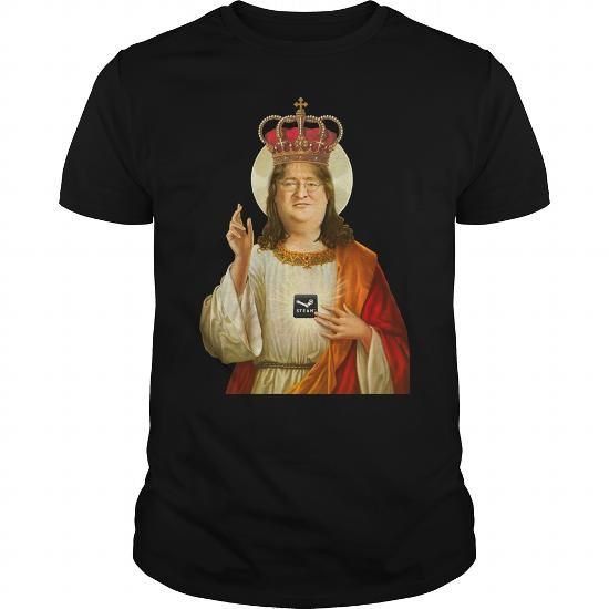 Cool and Awesome Praise Lord Gaben Tshirt Shirt Hoodie
