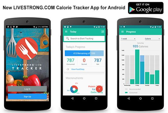 New LIVESTRONG.COM Android Calorie Tracker App Has Launched | LIVESTRONG.COM
