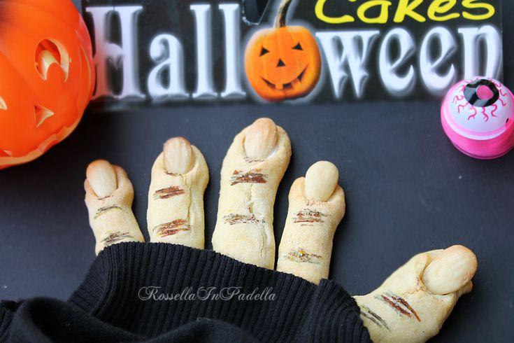 Dita della strega - biscotti di Halloween