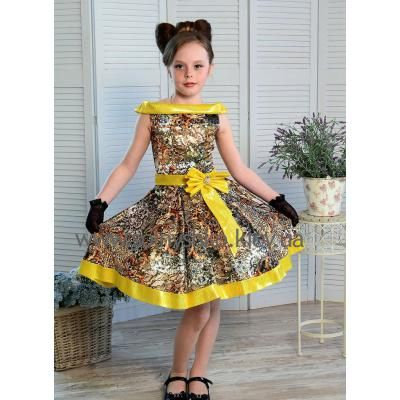 Нарядное платье для девочки Стиляги-003